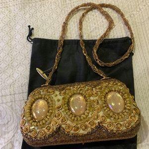 Vintage Mary Frances beaded handbag
